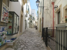Street of Otranto.