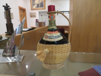 A bottle of Primofiore from 1950.