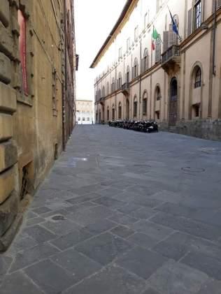 A street in Siena.