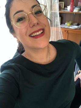 Claudia, at home