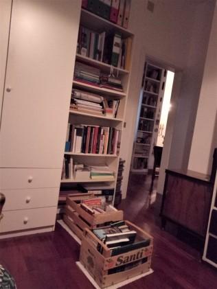 Paola has a few books to go through.